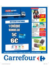 Promos et remises Carrefour JAMBES : Fake news or not?