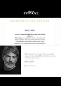 Prospectus Franck Provost DAMMARIE LES LYS : Automne - Hiver 2019/20