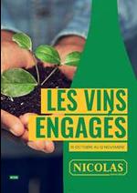 Prospectus Nicolas : Les vins engagés