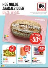 Prospectus Supermarché Delhaize Ieper : Folder Delhaize