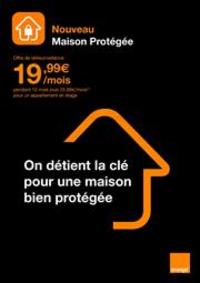 Prospectus Boutique Orange PARIS 2 : Nouveau Maison Protégée