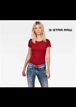 Catalogues et collections G Star : Nouveautés  Femme