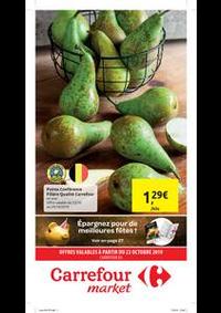 Prospectus Carrefour Market BARVAUX : folder Carrefour Market