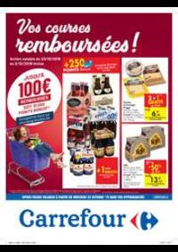 Prospectus Carrefour AUDERGHEM / OUDERGHEM : Vos courses remboursées !