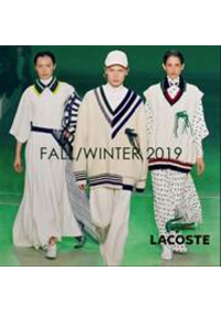 Prospectus Lacoste Lieusaint : Fall:Winter 19
