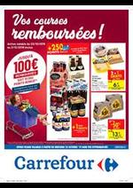 Prospectus Carrefour Express : Vos courses remboursees !