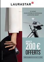 Promos et remises  : Jusqu'à 200€ offerts