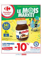 Prospectus Carrefour Market : Le mois market derniers jours