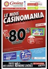 Prospectus Supermarchés Casino MORTEAU : Le mois Casinomania
