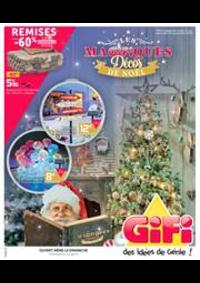 Prospectus Gifi GOUSSAINVILLE : Magifiquess Décos de Noël