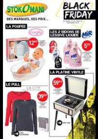 Prospectus Stokomani Vert-Saint-Denis : Black Friday
