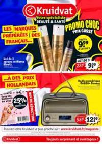 Prospectus Kruidvat Lille : Promo Choc