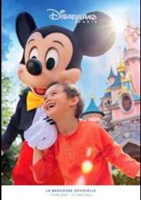 Prospectus Parc Disneyland Paris - Marne La Vallée  : Catalogue Disneyland Paris
