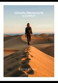 Journaux et magazines CLUB MED voyage TOULOUSE : Circuits Découverte  Hiver-Été 2020