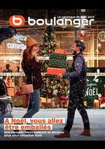 Prospectus Boulanger : Le catalogue de Noël 2019