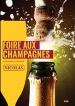 Prospectus Nicolas : Foire aux champagnes