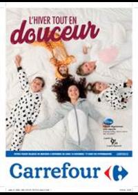 Prospectus Carrefour Express BRUXELLES Luxembourg : L'hiver tout en douceur