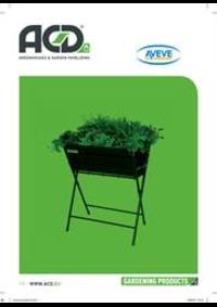 Prospectus AVEVE ASSE : Garden Products
