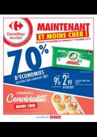 Prospectus Carrefour Market Melun : Maintenant et moins cher !
