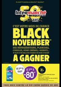 Prospectus Intermarché Super Veneux les Sablons 2 avenue de la Gare : BLACK NOVEMBER**