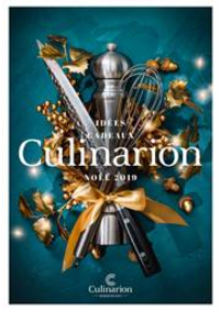 Prospectus Culinarion VERSAILLES : Noël 2019