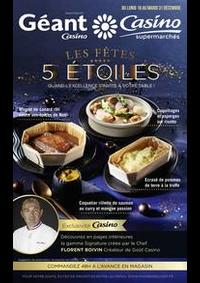Prospectus Géant Casino BOISSY SAINT LÉGER : Les fêtes 5 étoiles