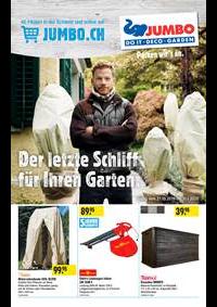 Prospectus Jumbo Allschwil : Der letzte Schliff für Ihren Garten.
