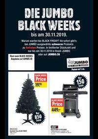 Prospectus Jumbo Allschwil : Die Jumbo Black Weeks