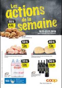 Prospectus Coop Supermarché Boncourt : Coop reklamblad