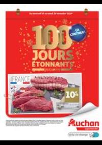 Prospectus Auchan BESSONCOURT : 100 jours étonnants avant 2020