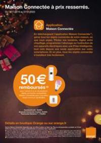 Prospectus Boutique Orange FONTAINE : Maison Connectée à prix resserrés.