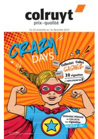 Prospectus Colruyt GRANDVILLARS : Crazy Days