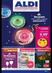 Prospectus Aldi Asnières-sur-Seine : Des jouets tout simplement amusants!