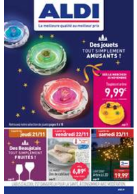 Prospectus Aldi Dammarie-les-Lys : Des jouets tout simplement amusants!