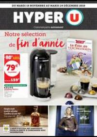 Prospectus Hyper U Neuilly Sur Marne : NOTRE SÉLECTION DE FIN D'ANNÉE