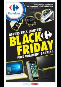Prospectus Carrefour CHARENTON LE PONT : BLACK FRIDAY PRIX VRAIMENT BARRES !
