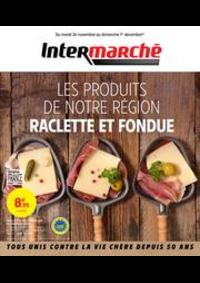 Prospectus Intermarché Super Decines : RACLETTE ET FONDUE