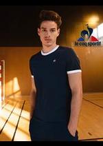 Prospectus Le Coq Sportif : Collection Homme