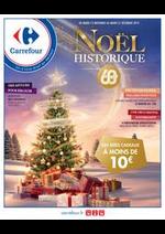 Prospectus Carrefour : Noël Historique