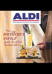 Prospectus Aldi TINLOT : Nos pour des fetes savoureuses meilleurs vœux