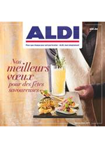 Prospectus Aldi : Nos pour des fetes savoureuses meilleurs vœux