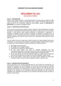 Prospectus Auchan Le Kremlin-Bicêtre : Rêglement Jules le castor