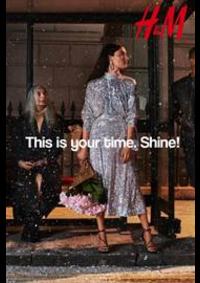 Prospectus H&M Paris 1-3 rue Lafayette : This is your time Shine!