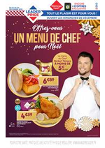 Promos et remises  : Offrez-vous un menú de chef por Noël