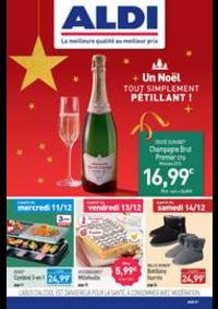 Prospectus Aldi St-Denis-les-Sens : Un Noël tout simplement pétillant!