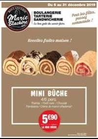 Prospectus Marie Blachère St Denis Les Sens : Recettes faites maison!