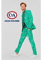 Prospectus C&A : Cadeaux pour Homme