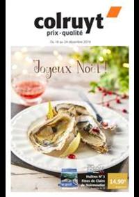 Prospectus Colruyt ANDENNE : Joyeux Noel