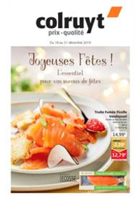 Prospectus Colruyt CHATELET : Jojeuses Fetes