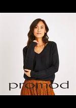 Prospectus Promod : Pulls & Cardigans Femme